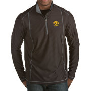 Antigua Men's Iowa Hawkeyes Black Tempo Half-Zip Pullover