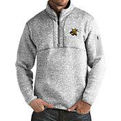 Antigua Men's Wichita State Shockers Grey Fortune Pullover Jacket