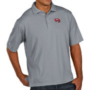 Antigua Men's Western Kentucky  Hilltoppers Grey Pique Xtra-Lite Polo