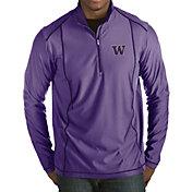 Antigua Men's Washington Huskies Purple Tempo Half-Zip Pullover