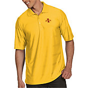 Antigua Men's Iowa State Cyclones Gold Illusion Polo