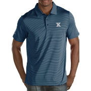 Antigua Men's Xavier Musketeers Blue Quest Polo