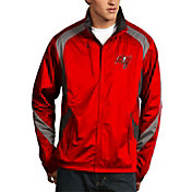 Antigua Men's Tampa Bay Buccaneers Tempest Red Full-Zip Jacket