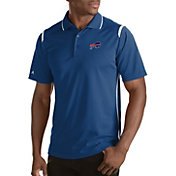 Antigua Men's Buffalo Bills Merit Navy Xtra-Lite Polo