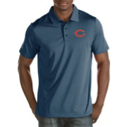Antigua Men's Chicago Bears Quest Navy Polo