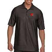 Antigua Men's Cleveland Browns Illusion Grey Xtra-Lite Polo