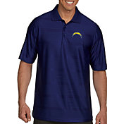 Antigua Men's Los Angeles Chargers Illusion Navy Xtra-Lite Polo