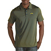 Antigua Men's Los Angeles Chargers Quest Polo