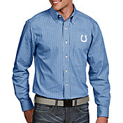 Antigua Men's Indianapolis Colts Associate Button Down Dress Shirt