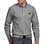 Antigua Men's Arizona Cardinals Associate Button Down Dress Shirt