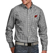 Antigua Men's Arizona Cardinals Associate Button Down Dress Shirt