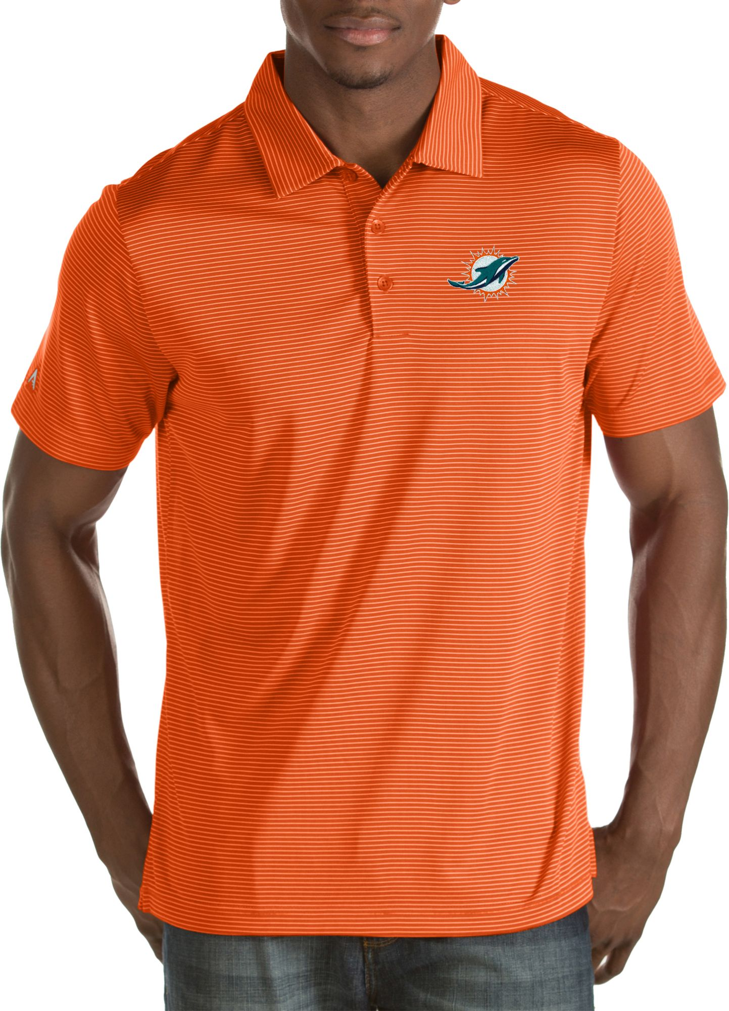 5341ce615 Miami Dolphins Polo Shirts