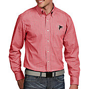 Antigua Men's Atlanta Falcons Associate Button Down Dress Shirt