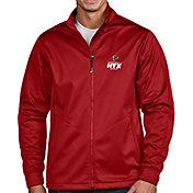 Antigua Men's Super Bowl LI Bound Atlanta Falcons Full-Zip Red Golf Jacket