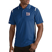 Antigua Men's New York Giants Merit Royal Xtra-Lite Polo
