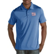 Antigua Men's New York Giants Quest Royal Polo