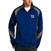 Antigua Men's New York Giants Tempest Royal Full-Zip Jacket