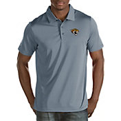 Antigua Men's Jacksonville Jaguars Quest Grey Polo