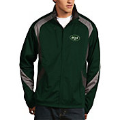 Antigua Men's New York Jets Tempest Green Full-Zip Jacket