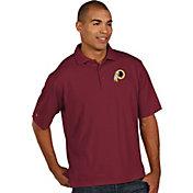 Antigua Men's Washington Redskins Pique Xtra-Lite Red Polo