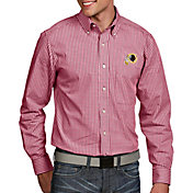Antigua Men's Washington Redskins Associate Button Down Dress Shirt