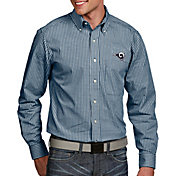 Antigua Men's Los Angeles Rams Associate Button Down Dress Shirt