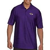 Antigua Men's Baltimore Ravens Illusion Purple Xtra-Lite Polo