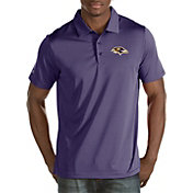 Antigua Men's Baltimore Ravens Quest Purple Polo