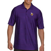 Antigua Men's Minnesota Vikings Illusion Purple Xtra-Lite Polo