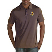 Antigua Men's Minnesota Vikings Quest Purple Polo