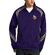 Antigua Men's Minnesota Vikings Tempest Purple Full-Zip Jacket
