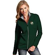 Antigua Women's Boston Celtics Leader Kelly Green Full-Zip Fleece