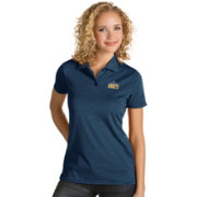 Antigua Women's Denver Nuggets Xtra-Lite Navy Quest Performance Polo