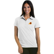 Antigua Women's Phoenix Suns Xtra-Lite White Pique Performance Polo