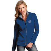 Antigua Women's Philadelphia 76ers Leader Royal Full-Zip Fleece