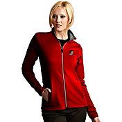 Antigua Women's Portland Trail Blazers Leader Red Full-Zip Fleece