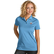 Antigua Women's Oklahoma City Thunder Xtra-Lite Blue Quest Performance Polo