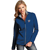 Antigua Women's Oklahoma City Thunder Leader Royal Full-Zip Fleece