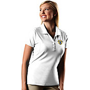 Antigua Women's 2017 NBA Champions Golden State Warriors Pique White Performance Polo