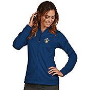 Antigua Women's 2017 NBA Champions Golden State Warriors Royal Golf Jacket