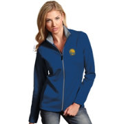 Antigua Women's Golden State Warriors Leader Royal Full-Zip Fleece