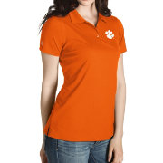 Antigua Women's Clemson Tigers Orange Inspire Performance Polo