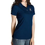 Antigua Women's UConn Huskies Blue Inspire Performance Polo