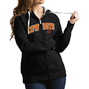 Antigua Women's Oklahoma State Cowboys Black Victory Full-Zip Hoodie