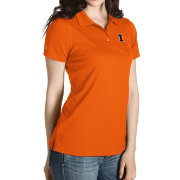 Antigua Women's Illinois Fighting Illini Orange Inspire Performance Polo