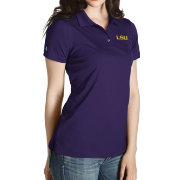 Antigua Women's LSU Tigers Purple Inspire Performance Polo