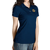 Antigua Women's Marquette Golden Eagles Blue Inspire Performance Polo