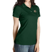 Antigua Women's Charlotte 49ers Green Inspire Performance Polo
