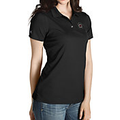 Antigua Women's South Carolina Gamecocks Black Inspire Performance Polo