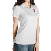 Antigua Women's Washington State Cougars Grey Inspire Performance Polo